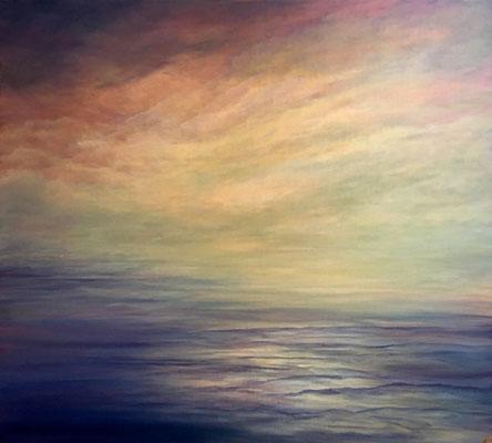 Quiet Sea III, 2018, 80x90 cm