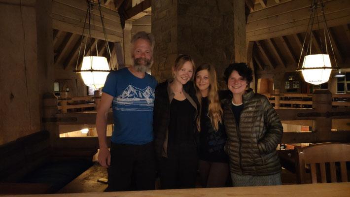 Mit Rebecca und Symbria