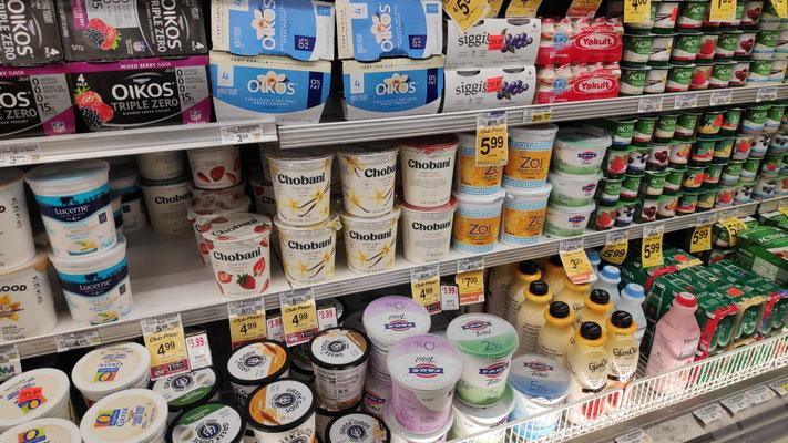 Joghurt wird immer im Resupply-Ort gegessen
