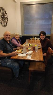 Abendessen mit Ron und Bon