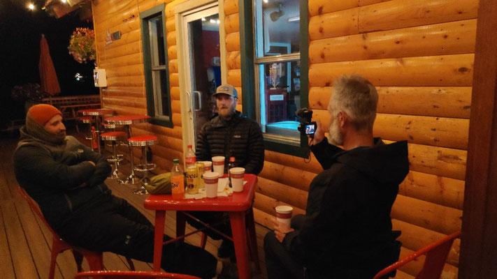 Mit Jonas und Andi am Odell Lake