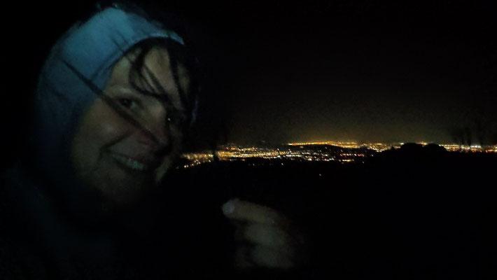 Cowboycamping mit Sicht auf Palm Springs