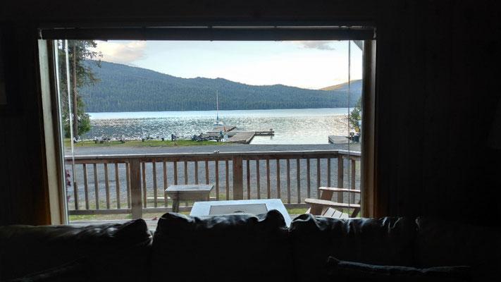 Blick auf den See (Odell Lake)
