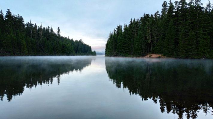 Sonnenaufgang am Timothy Lake