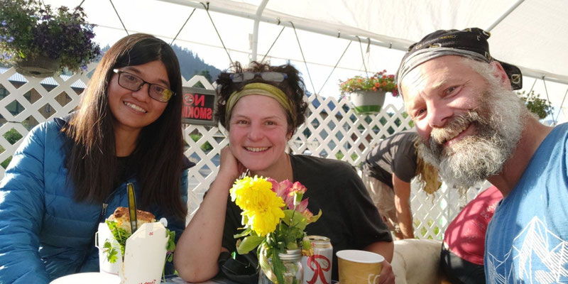 Mit Andale! aus Taiwan am Foodtruck in Snoqualmie Pass