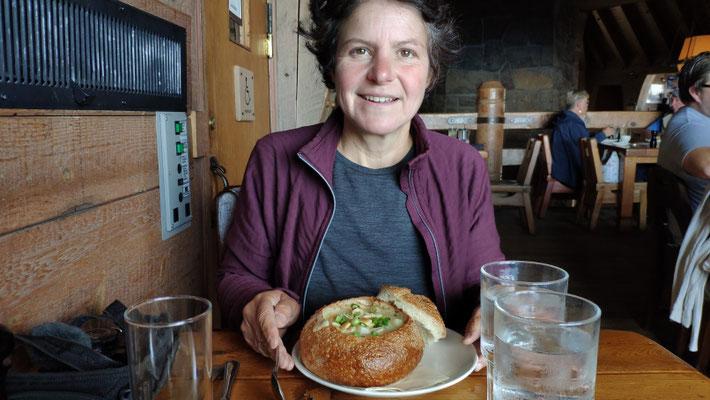 Lunchtime: Clam Chowder für Sabine
