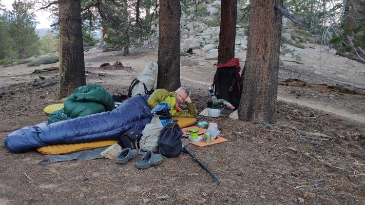 Das erste Cowboycamping in der Sierra!
