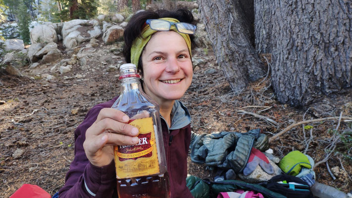 Echt amerikanisch: Der Whisky ist jetzt immer dabei