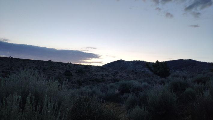 Sonnenaufgang in der Wüste