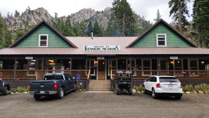 Kennedy Meadows Resort - vor dem Wetterumschwung