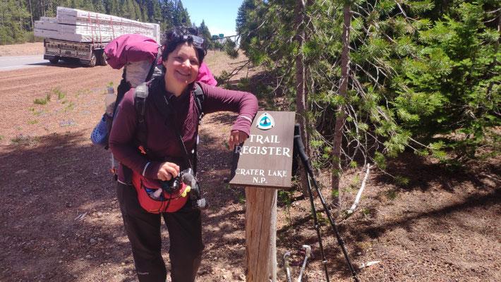 In Oregon gibt es seltener Trailregister