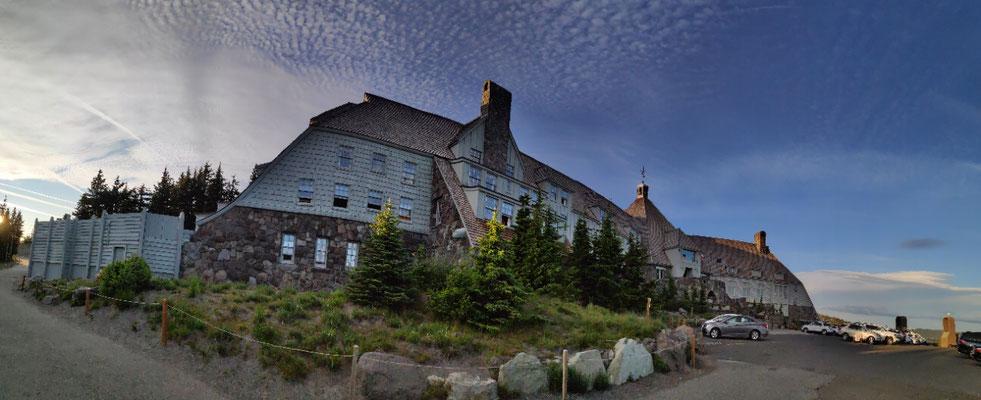 Die Timberline Lodge wurde 1936-37 erbaut