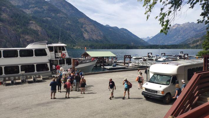 Lake Chelan ist der größte Natursee von Washington