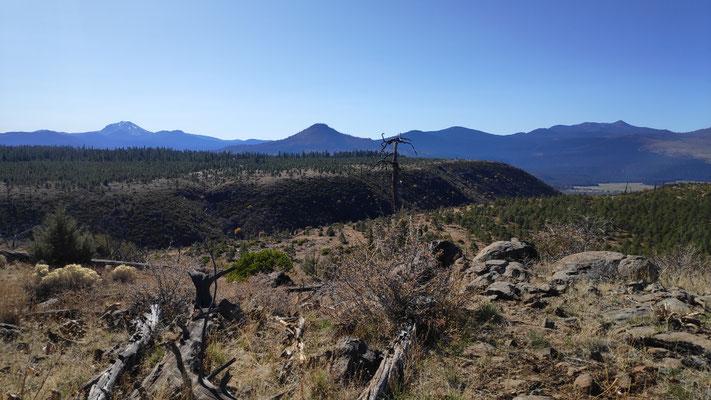 Blick von der Hat Creek Rim