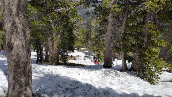 Aufstieg auf den Mount Baden-Powell