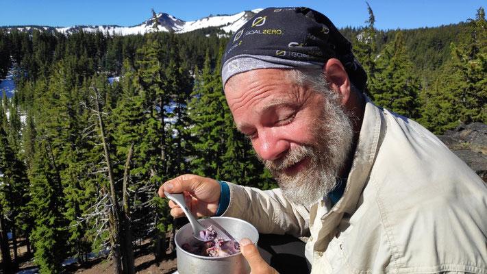 Plateau: Frühstück