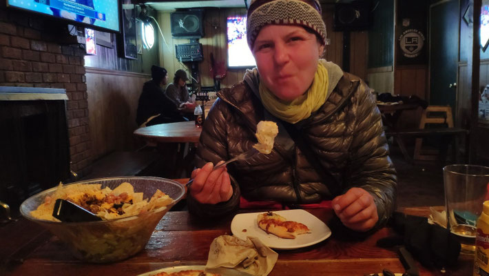 Warmes im Yodeler und Taco-Salat