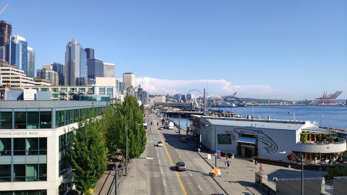 Einige Impressionen von Seattle ...