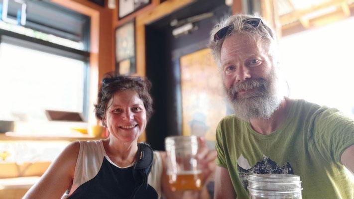 Mit Bier direkt aus Seattle