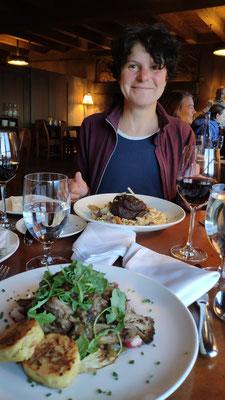Diner: Lamm und Pork, das Beste, was wir bislang in den USA gegessen haben