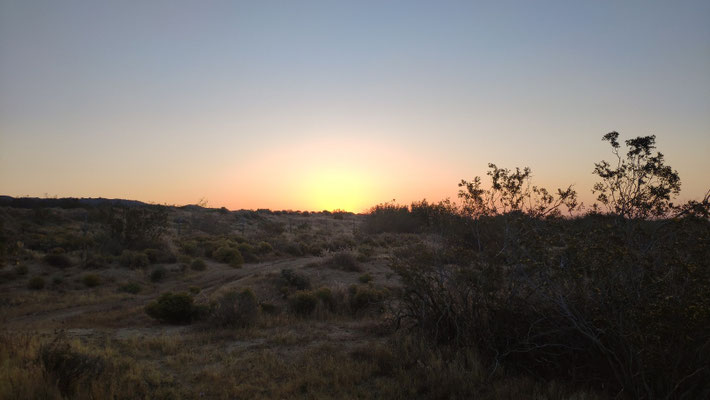 25. Mai: Sonnenaufgang