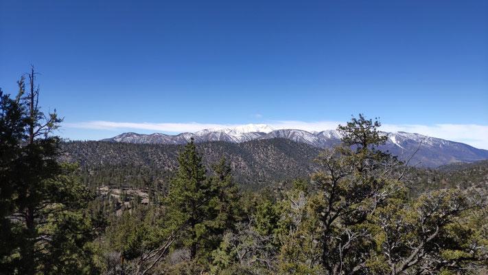 Die letzten 16 km bis Big Bear