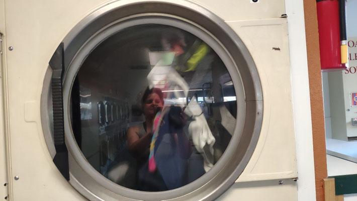 Typisch amerikanisch: Ein Waschsalon