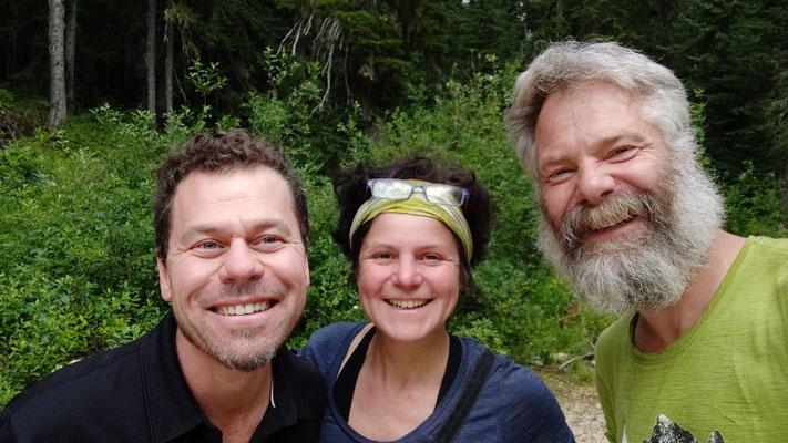 Chad aus Winthrop hat uns an den Trailhead Rainy Pass gefahren