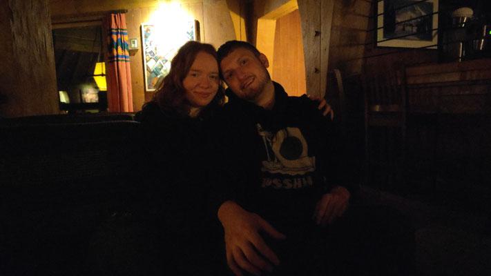 Nicolai & Catherine haben sich gerade verlobt