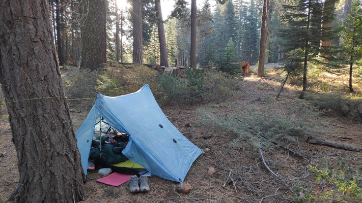 Campen am Highway 36