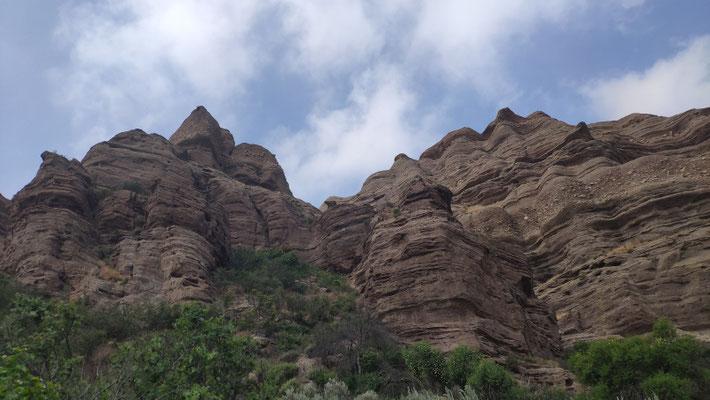 Die bekannten Vasquez Rocks