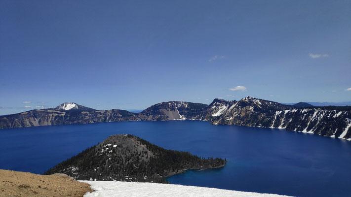 Crater Lake, östlicher Kraterrand