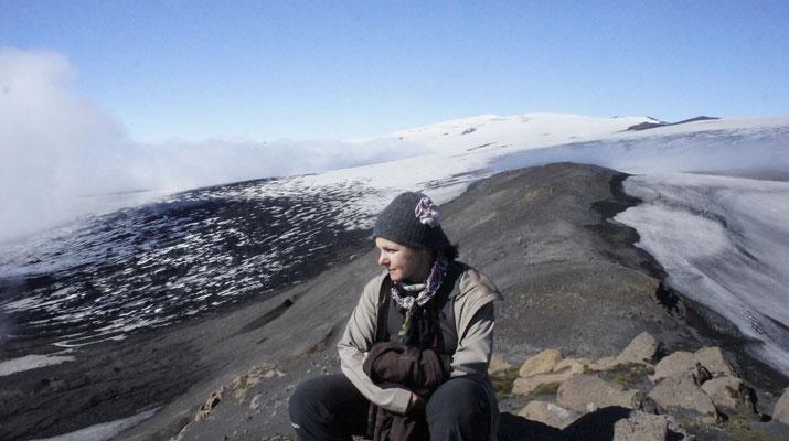 Island (2012) - Der Pass Fimmvörðuháls zwischen den beiden Vulkanen Eyjafjallajökull und Mýrdalsjökull