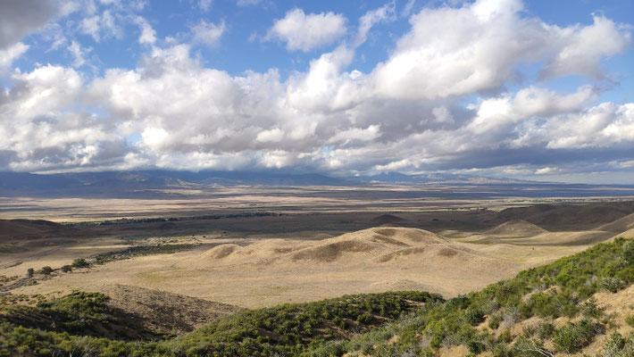 Die Mojave-Wüste, im Westen begrenzt durch die San-Andreas-Verwerfung