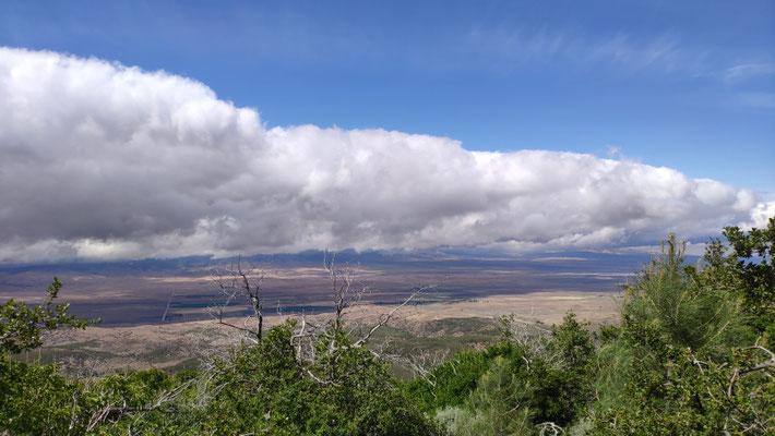 Wir kommen der Mojave-Wüste immer näher