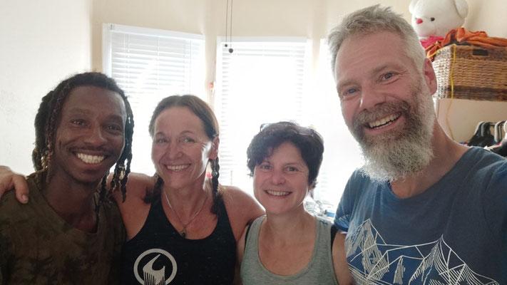 In Bakersfield: Daheim bei Franziska und Freund Quincy