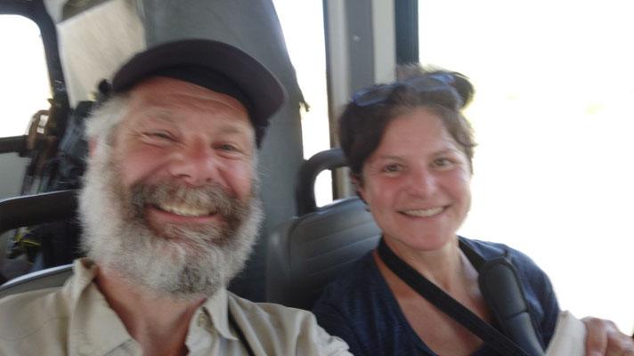 Fahrt nach Ashland/Oregon: 18 Stunden im Bus, inkl. Umsteigezeiten