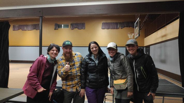 Mit Morgan, Amanda, Gretel und Hänsel