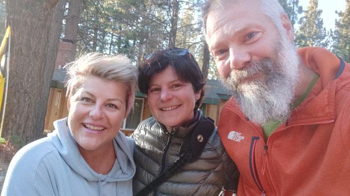 Unsere spontane Gastgeberin in South Lake Tahoe: Gail