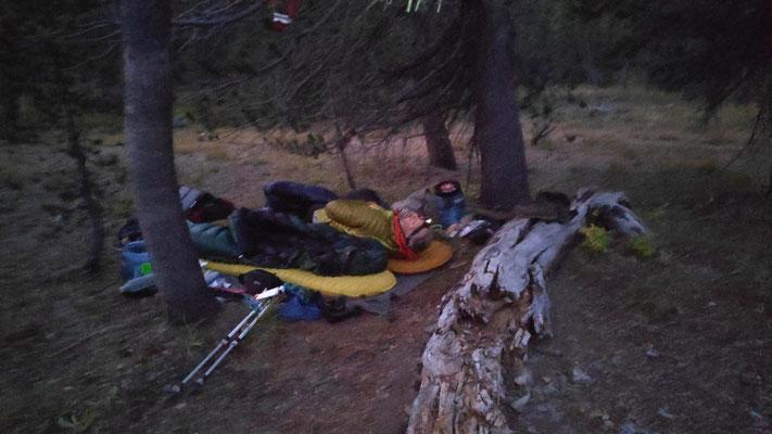 Cowboycamping zw. Tuolumne und Kennedy Meadows