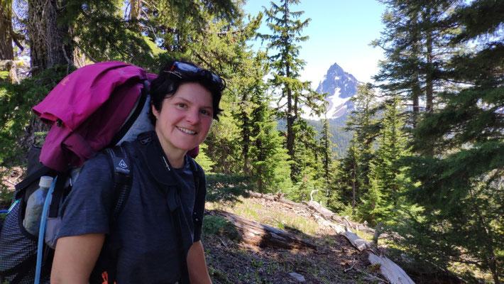 Im Hintergrund Mountain Thiersen