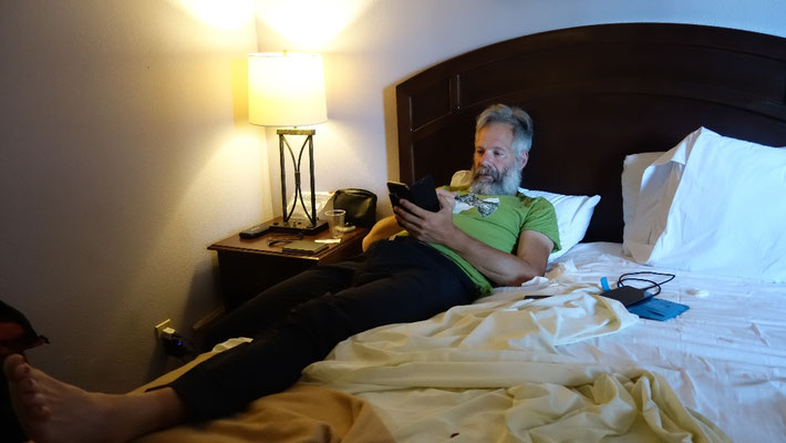 Im Hotelzimmer des La Hacienda Hotels