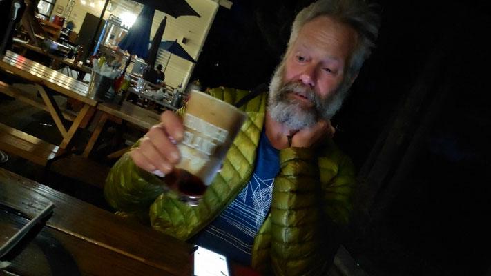 Olli mit einem Beer Float