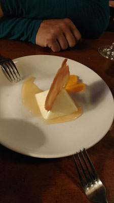 Dessert: Pana Cotta
