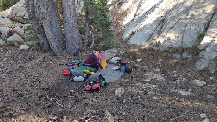 Cowboycamping in der Sierra