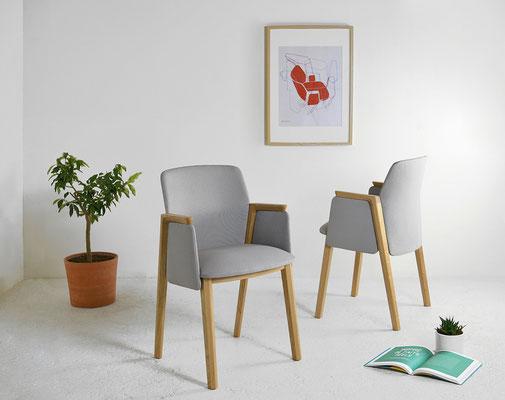 Vue d'ensemble pour une utilisation autour d'une table ou pour un bureau. Pierre Dubourg 2018