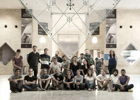 L'équipe au grand complet ! Photo Charles Seuleusian. Pierre Dubourg 2013