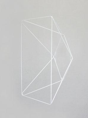Structure en fil d'acier thermolaqué. Pierre Dubourg 2014