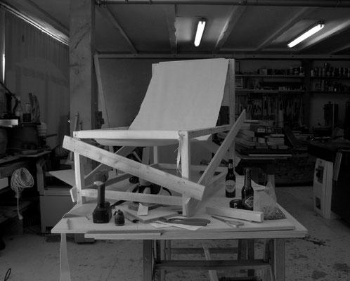 Prototype 1: recherches de confort et de proportions , Pierre Dubourg 2018