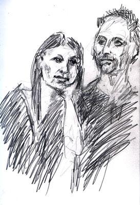 Marlena and Sven by Corina